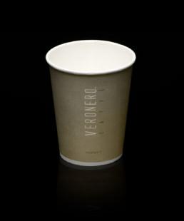bicchiere di carta per cappuccino veronero