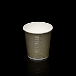 bicchiere di carta per caffè espresso veronero