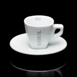 tazzina bianca per espresso dec veronero