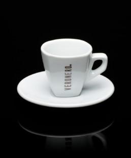 tazzina bianca per espresso veronero