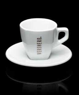 tazza bianca per cappuccino veronero