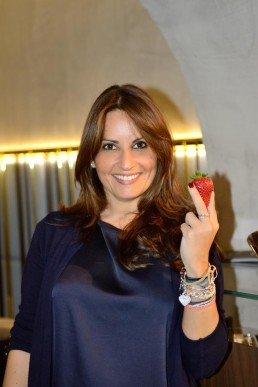 Daniela Marrocco, coach (area Life/Sport/Business) con fragola Candonga Fragola Top Quality®