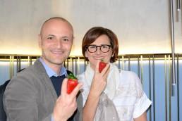 Carmela Suriano (ceo Club Candonga®) con Francesco Pisani
