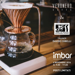 Corso di brewing coffee - 4 novembre, Imbar